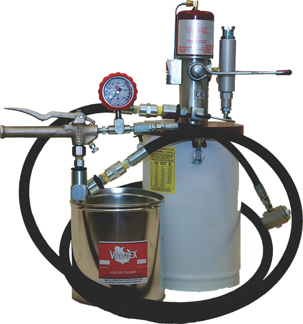 Pneumatic Grease Gun >> Val-Tex   Products   Lubrication Equipment